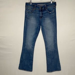 American eagle kick boot stretch jeans size 10